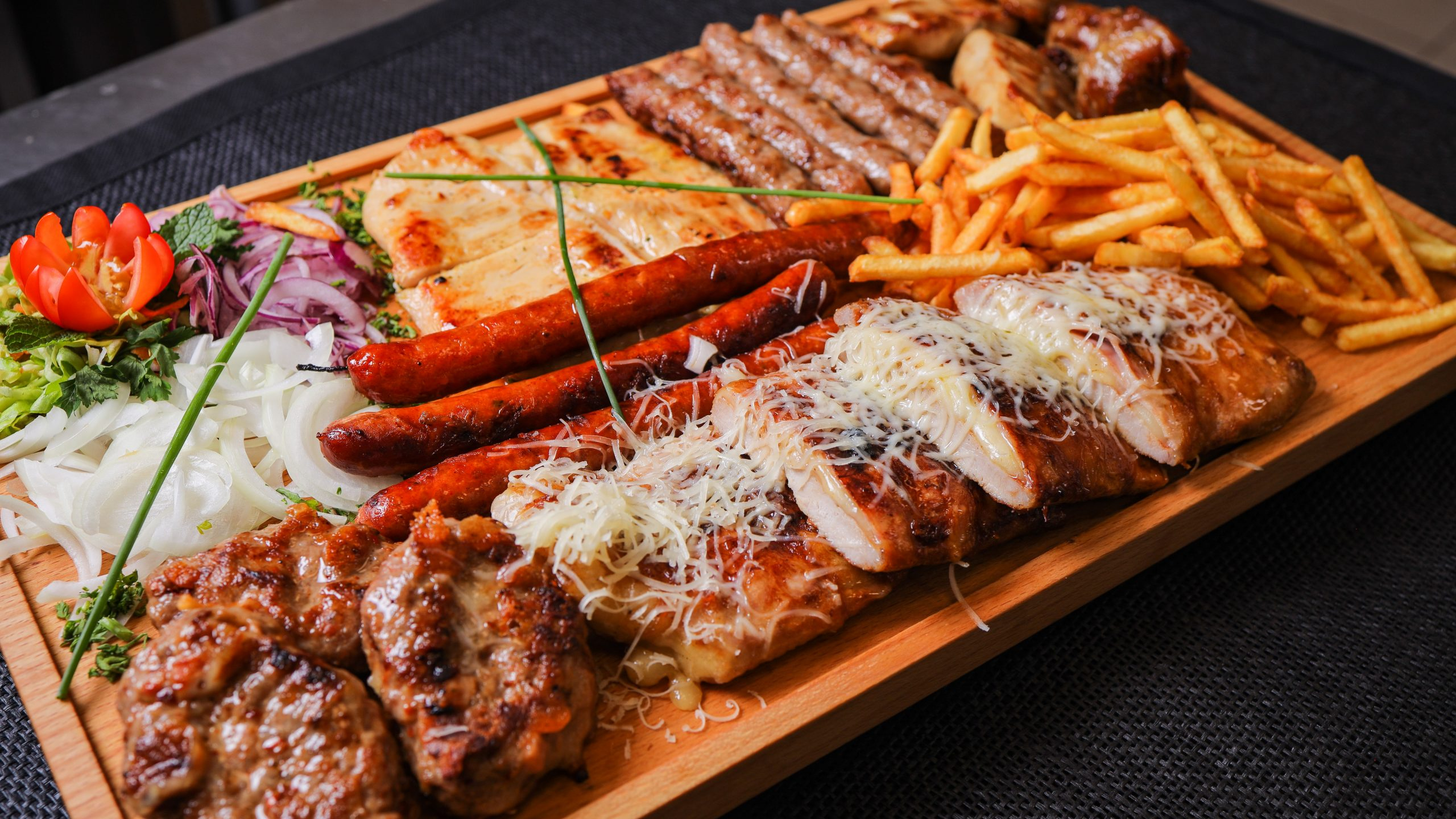 Roštilj u restoranu Festina Lente